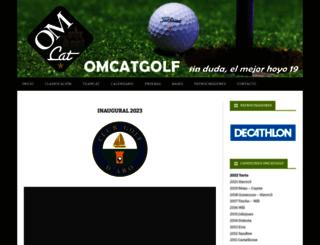 omcatgolf.com screenshot