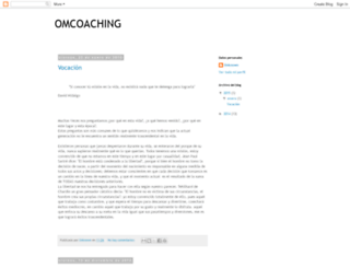 omcoachingo.blogspot.mx screenshot