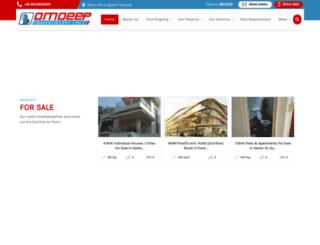 omdeepproperties.com screenshot