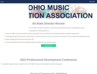 omea-ohio.org screenshot