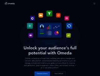 omeda.com screenshot