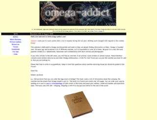 omega-addict.com screenshot