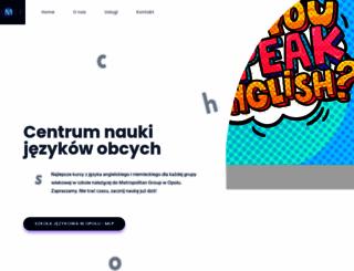 omega-edu.pl screenshot