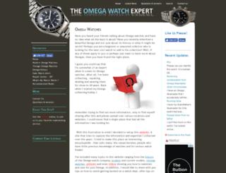 omega-watches-expert.com screenshot