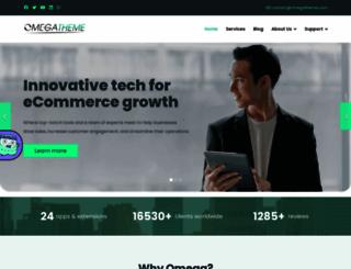 omegatheme.com screenshot