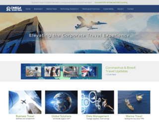 omegaworld.co.uk screenshot