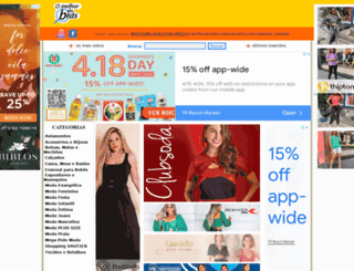 omelhordobras.com.br screenshot