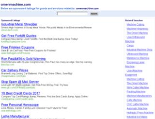 omenmachine.com screenshot