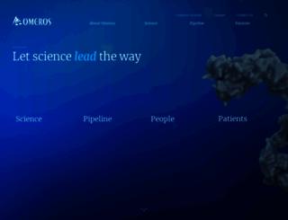 omeros.com screenshot