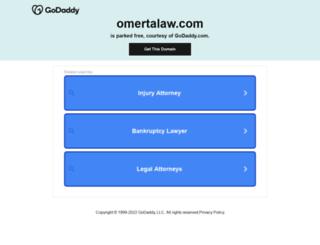 omertalaw.com screenshot