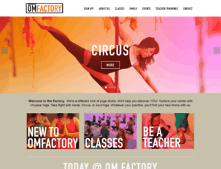 omfactorynyc.com screenshot