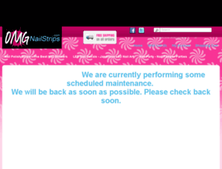 omgnailstrips.com screenshot
