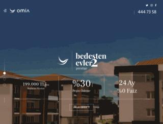 omia.com.tr screenshot