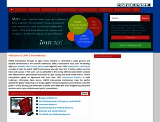 omicsonline.com screenshot