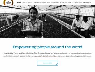 omidyargroup.com screenshot