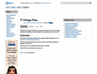 omiga-plus.updatestar.com screenshot