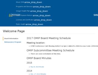 omip.state.or.us screenshot