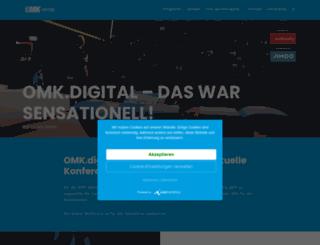 omk2015.de screenshot