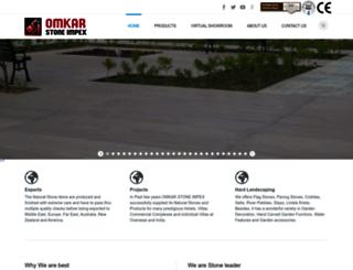 omkarstoneimpex.com screenshot