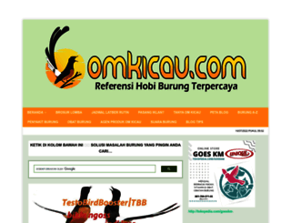 omkicau.com screenshot