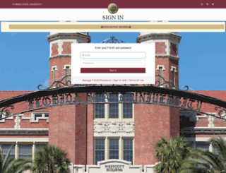 omni.fsu.edu screenshot