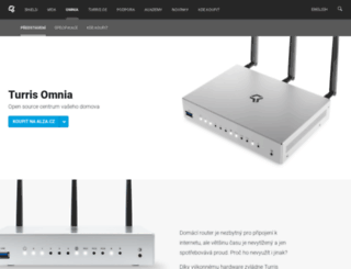 omnia.turris.cz screenshot