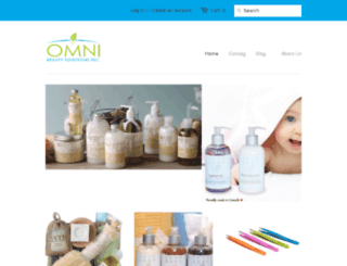 omnibeauty.ca screenshot