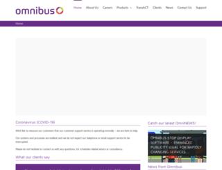 omnibus.uk.com screenshot