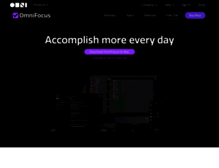 omnifocus.com screenshot