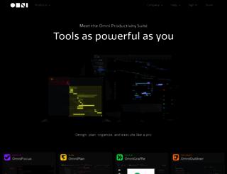 omnigroup.com screenshot