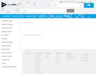 omnitronic.cz screenshot
