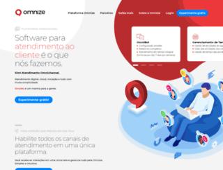 omnize.com.br screenshot