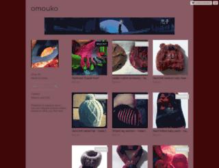 omouko.storenvy.com screenshot