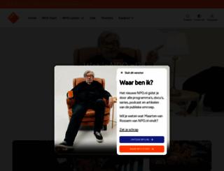 omroep.nl screenshot
