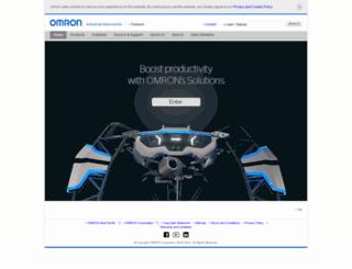 omron-ap.co.th screenshot