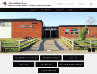 oms.stoughtonschools.org screenshot