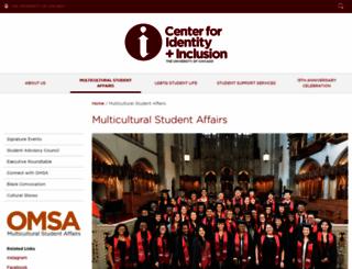 omsa.uchicago.edu screenshot
