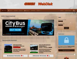 omsi-webdisk.de screenshot