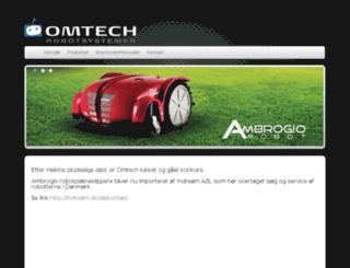omtech.dk screenshot