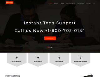 omtechies.com screenshot