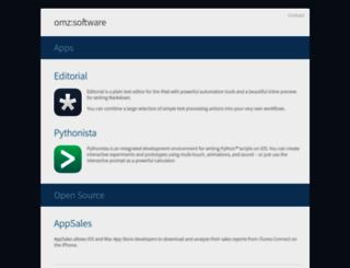 omz-software.com screenshot