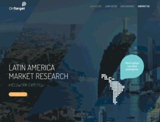 on-target.com.mx screenshot