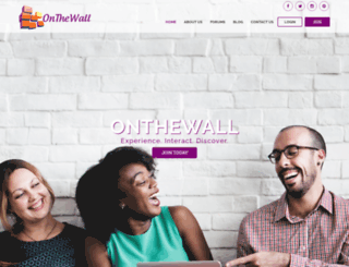 on-thewall.com screenshot