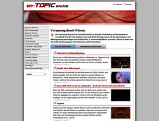 on-topic.de screenshot
