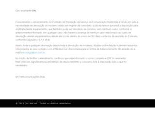 on.com.br screenshot