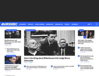 on.msnbc.com screenshot