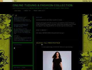 on9tudung.blogspot.com screenshot