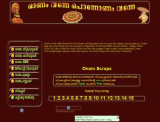 onam.ckalari.com screenshot