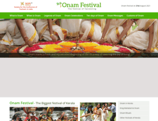 onamfestival.org screenshot