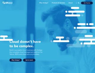 onapp.com screenshot